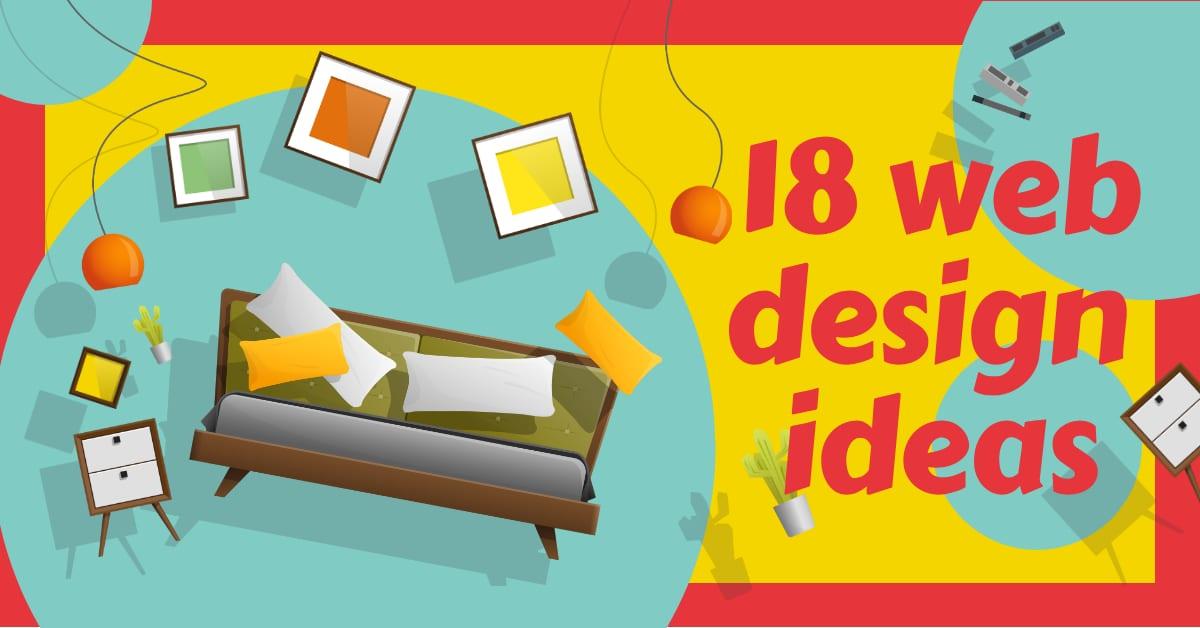 18 Web Design Ideas
