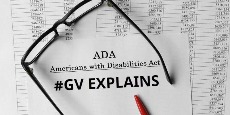 GV Explains ADA compliant website